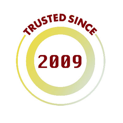 Trusted since 2009 Seal