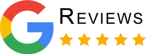 Google Reviews icon with stars
