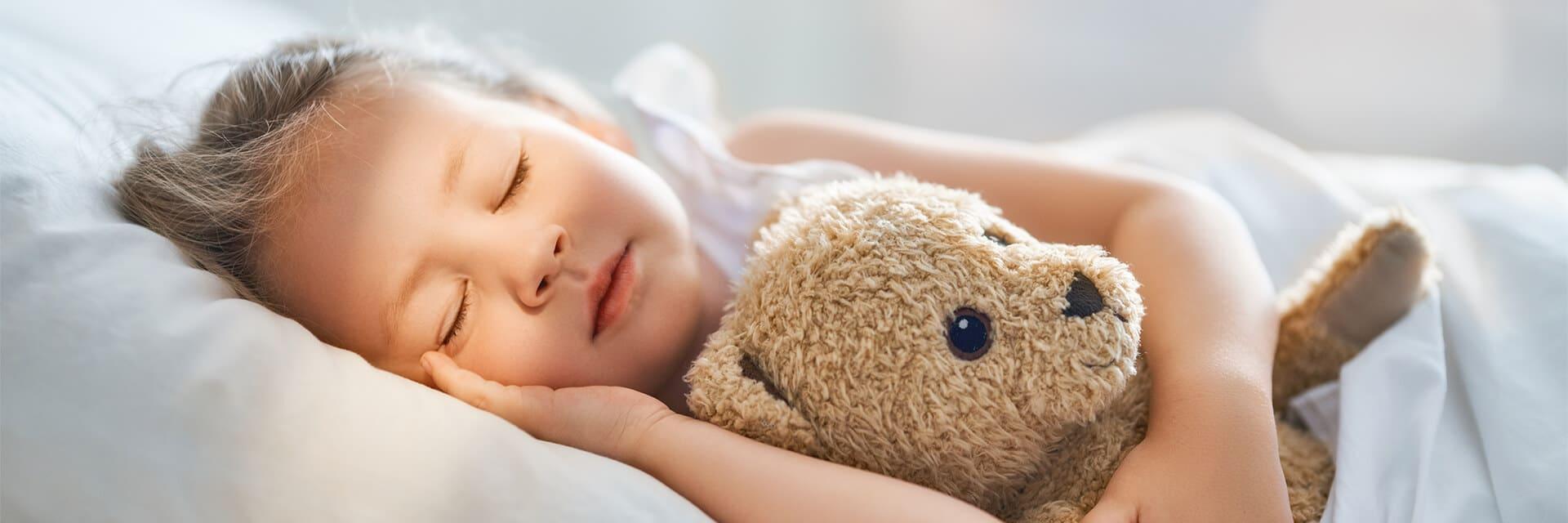 Child safe in bed